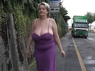 BBW;Big Boobs;Matures;Public Nudity;Tits;BBW Solo;Solo;Big BBW Solo #2 (Mature BBW with Big Boobs)