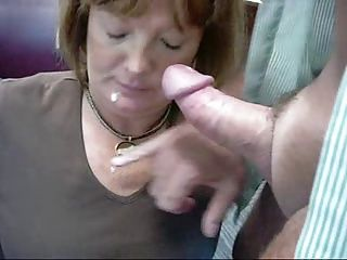 Amateur;Cumshots;Facials;Matures;MILFs Amateur facial again
