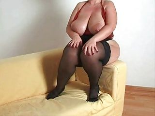 BBW;Big Boobs;Matures;Busty Stockings;MILF Stockings;Busty MILF Busty plumper milf in stockings