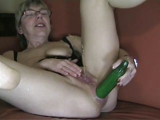 Anal;German;Grannies;Masturbation;Matures;Cucumber Anal cucumber