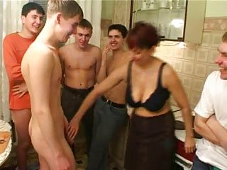 Gangbang;Matures;Old+Young;Friend's Mom;Birthday;Pussy;Pussy Licking;Pussy Fucking;Gang Bang;Family;Mother;Son;Taboo;Birthday Boy;Mom Birthday boy...
