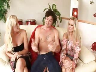 Blondes;Group Sex;Matures;MILFs;Lucky Bastard;Doll Lucky bastard has...