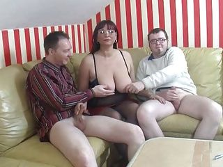 BBW;Big Boobs;German;Matures;Threesomes Die Sex...