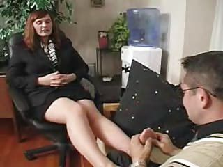 Femdom;Matures;Nylon;Stockings;Boss;In Pantyhose;Pantyhose Boss in Pantyhose...