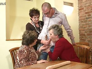 MILFs;Grannies;Matures;Group Sex;Squirting;Granny and Young;Granny Young;Granny;Young Fucked;Young;Fucked;Mature NL Granny GRANNY and...
