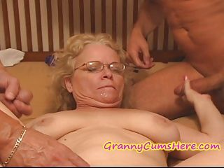 Amateur;Creampie;Gangbang;Grannies;Matures;Old;Granny;Granny Cream;Nasty Granny;Nasty;Granny Cums Here NASTY Granny gets...