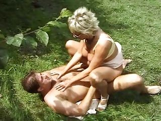 German;Matures;MILFs;Old+Young;Public Nudity;Outdoors;Outside Over 40