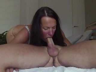 French mature takes 2 cumshots and facial in her face 1