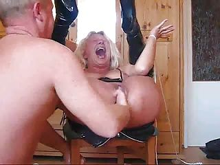 Amateur;BDSM;Matures;MILFs;Bondage;Home Made;Ass Fucking;Ass Fuck;Butt;Fucked;Butt Fuck;Dildo;Fisting;Couple;Extreme;Orgasm;Mother;Rough;Wife;Slave Old milf really hard bondage