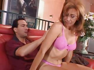 Matures;MILFs;Pussy;Licking;Riding;Redhead;Pounding;Nasty;Naughty;Glasses;MILF Action;Action MILF in Action