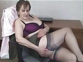 Big Boobs;Matures;Stockings;HD Videos;Office;At the Office;Busty Office;Office MILF;Busty MILF;Stocking Aces Busty Milf Alison At The Office