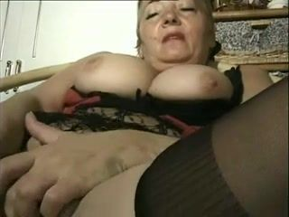 Mature,Dildos/Toys,Grannies,Stockings This sexy video...
