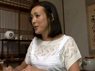Asian,Japanese,Mature,Cumshots,Dildos/Toys,Group Sex,Hardcore,Threesomes As she's...