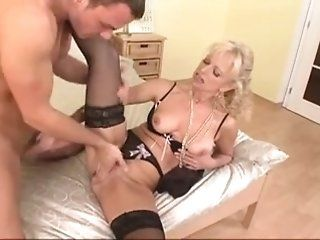 Hardcore,Stockings,Mature Mom was horny and...