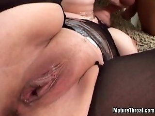 Mature,Blowjob,Group Sex,Big Dick She was banged...