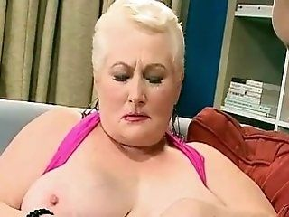 Mature,Grannies,Big Tits,BBW,Hardcore,Stockings Big-titted old...