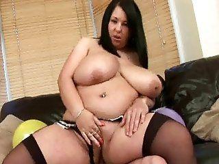 BBW,Mature,Brunette,Big Tits,Blowjob Brunette horny...