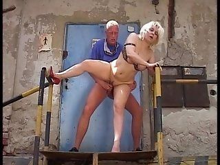 Hairy,Mature,BBW,Group Sex Unshaven mature...