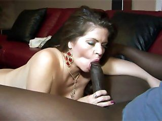 Mature,Brunette,Big Tits,Hardcore,Interracial,Big Dick Mature chick June...