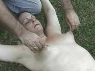 BDSM,Mature,Public Submissive old...