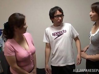 Asian,Japanese,Mature,Big Tits,Blowjob,Big Dick,Hardcore,Babes,Threesomes Japanese AV Model is a naughty babe...