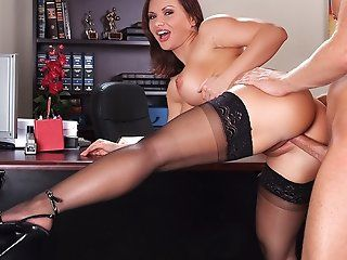 Big Butt,Blowjob,Brunette,Cumshots,Facial,MILFs,Mature,Stockings,Shaved Professor Katja...