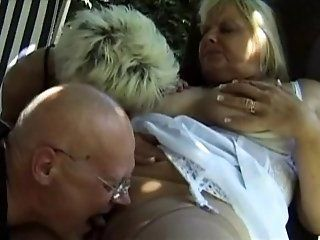 French,Cunnilingus,Group Sex,Mature Two hot French...