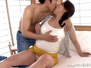 Asian,Japanese,Mature,Blowjob,Facial,Shaved,Hardcore Neko Ayami...
